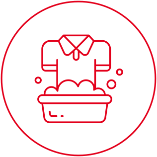 Unlimited laundry icon